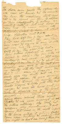 Letter from Smith G. Ketcham to Emily Burton Ketcham (August 30, 1898)