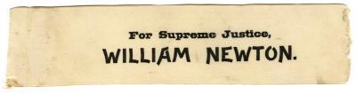 William Newton ribbon