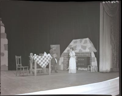 Theater Cast and Set