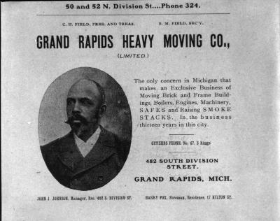 Grand Rapids Heavy Moving Co. Advertisement