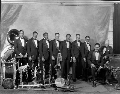 Glenn jazz band