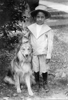 William (Bill) Glenn and Dog