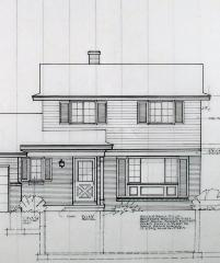 Albert Builders architectural drawings