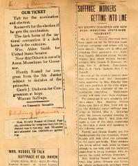 Suffrage movement in Grand Rapids