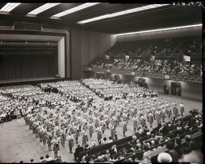 Group Performing in Civic Auditorium