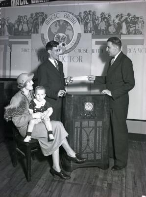 RCA Victor Exhibit Booth