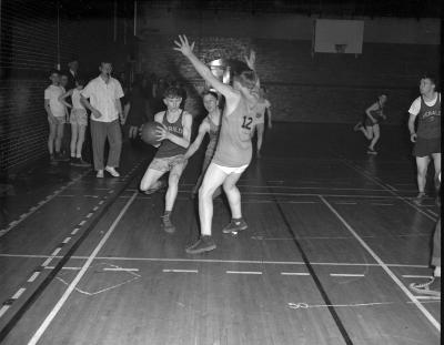 Basketball, at South Gym