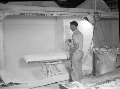 Leonard Refrigerator Factory Interior