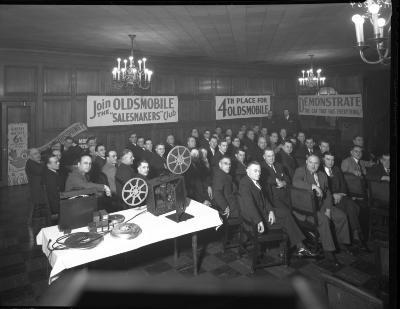Oldsmobile Sales Meeting