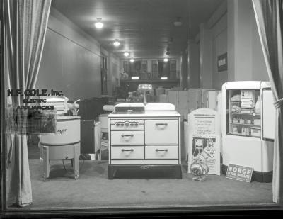 H. F. Cole, Inc. Eletric Appliances