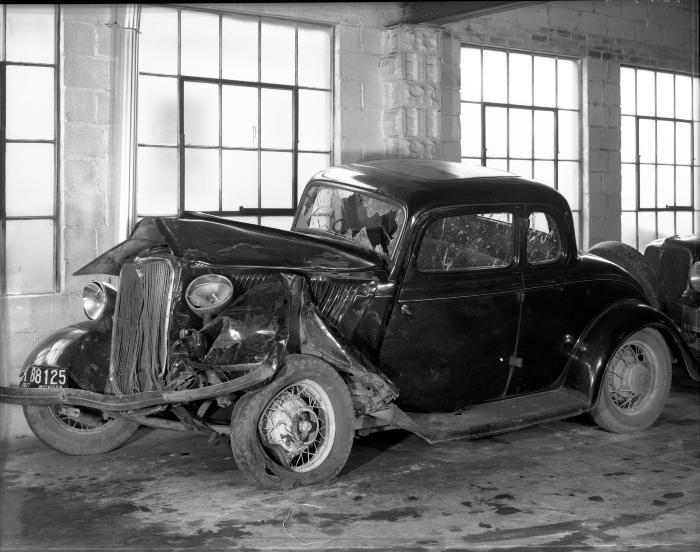 Damaged Ford