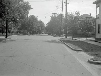 Indiana Ave. and Watson St SW
