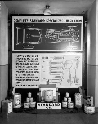 Standard Oil Co. Displays