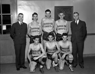 Gordon-Van Cheese Co. Basketball Team