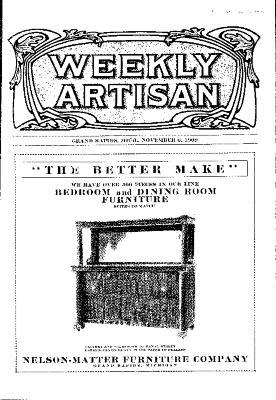 Weekly Artisan, November 6, 1909