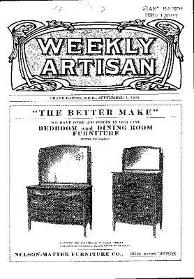 Weekly Artisan, September 4, 1909