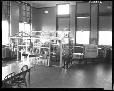 East Leonard School classroom