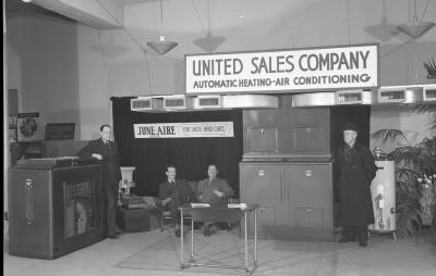 United Sales Co display at Home Show