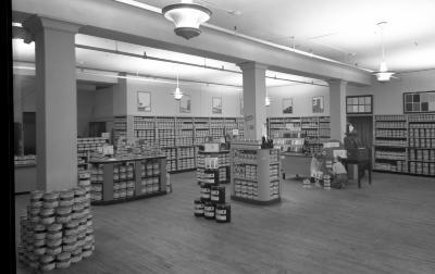 Wurzburg's Dept Store, Paint and Wallpaper dept.