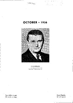 Fine Furniture, October 1936
