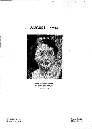 Fine Furniture, August 1936
