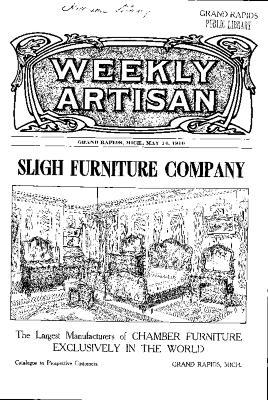 Weekly Artisan, May 14, 1910