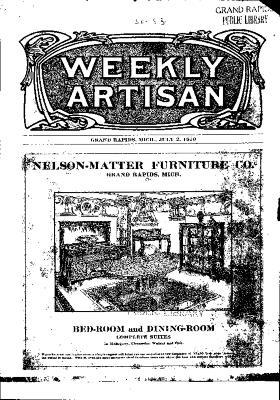 Weekly Artisan, July 2, 1910