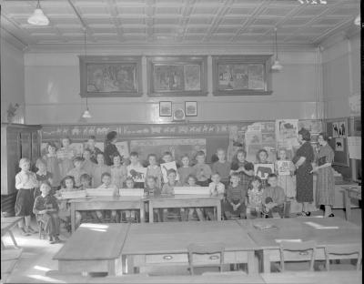 Palmer School Students