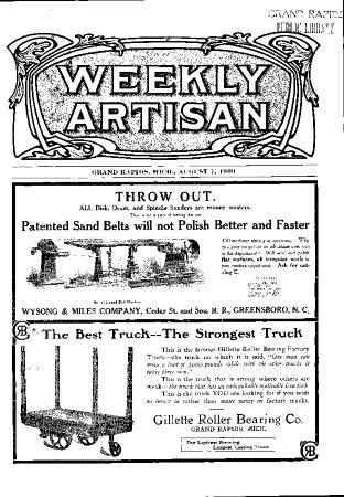 Weekly Artisan, August 7, 1909