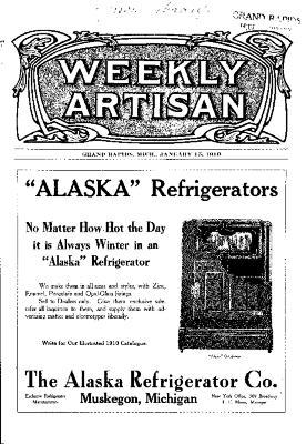 Weekly Artisan, January 15, 1910