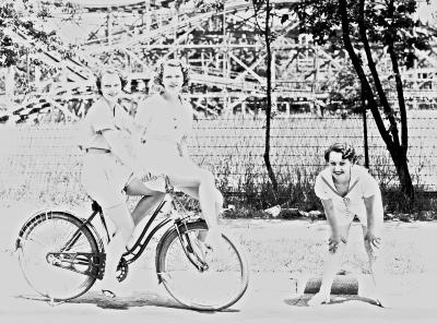 Women and Bicycle
