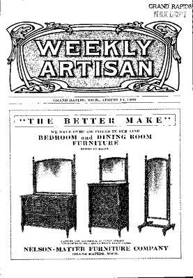 Weekly Artisan, August 14, 1909