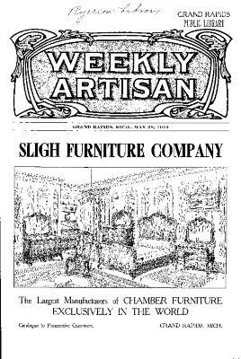 Weekly Artisan, May 28, 1910