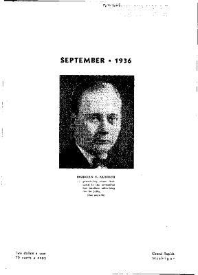 Fine Furniture, September 1936
