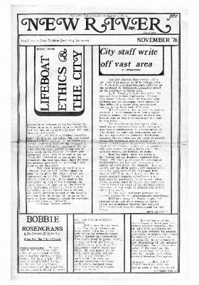 New River Free Press, November, 1976