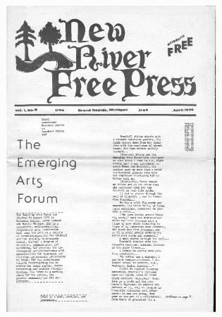 New River Free Press, April, 1974