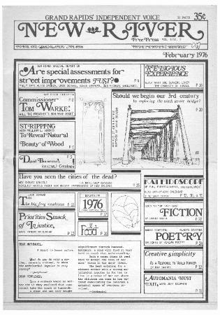 New River Free Press, February, 1976