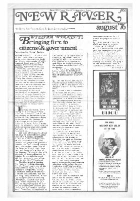 New River Free Press, August, 1976