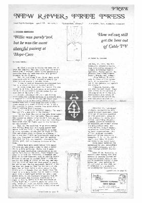New River Free Press, April, 1975