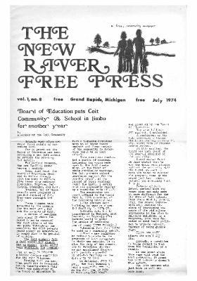 New River Free Press, July, 1974