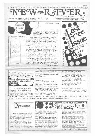 New River Free Press, December, 1975