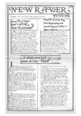 New River Free Press, July, 1976