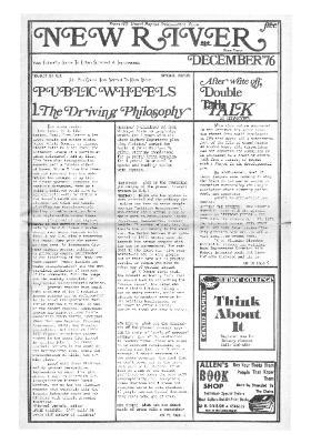 New River Free Press, December, 1976