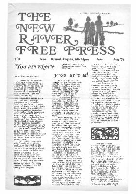 New River Free Press, August, 1974
