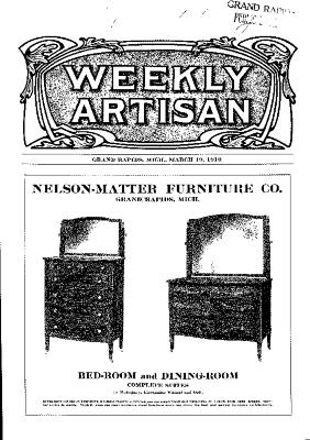 Weekly Artisan, March 19, 1910