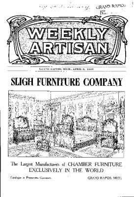 Weekly Artisan, April 9, 1910