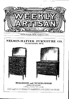 Weekly Artisan, March 5, 1910