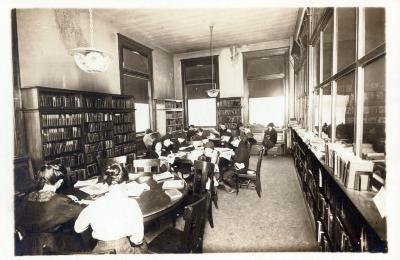 West Side branch, general reading room