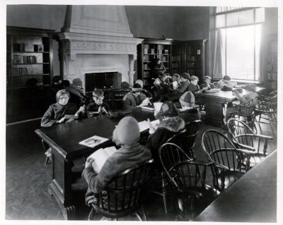 West Side branch, children's room corner