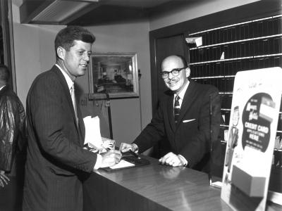 John F. Kennedy in Grand Rapids